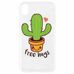 Чохол для iPhone XR Free Hugs Cactus