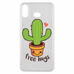 Чехол для Samsung A6s Free Hugs Cactus