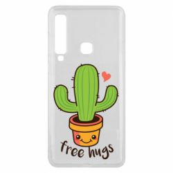 Чехол для Samsung A9 2018 Free Hugs Cactus