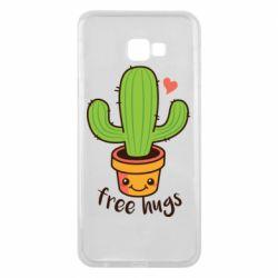 Чохол для Samsung J4 Plus 2018 Free Hugs Cactus