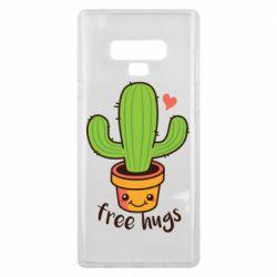 Чохол для Samsung Note 9 Free Hugs Cactus
