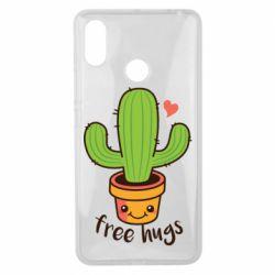 Чехол для Xiaomi Mi Max 3 Free Hugs Cactus