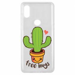 Чехол для Xiaomi Mi Mix 3 Free Hugs Cactus