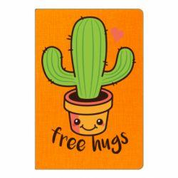 Блокнот А5 Free Hugs Cactus