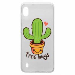Чехол для Samsung A10 Free Hugs Cactus