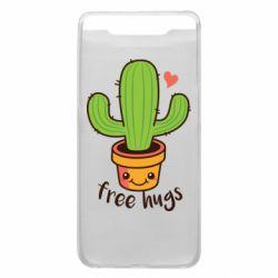 Чохол для Samsung A80 Free Hugs Cactus