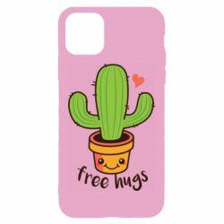 Чохол для iPhone 11 Free Hugs Cactus
