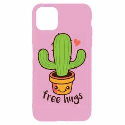 Чохол для iPhone 11 Pro Max Free Hugs Cactus
