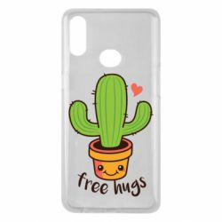 Чехол для Samsung A10s Free Hugs Cactus
