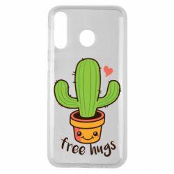 Чохол для Samsung M30 Free Hugs Cactus