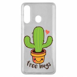 Чохол для Samsung M40 Free Hugs Cactus