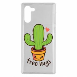 Чохол для Samsung Note 10 Free Hugs Cactus