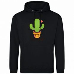 Чоловіча толстовка Free Hugs Cactus