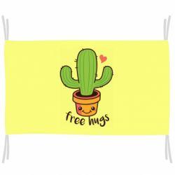 Флаг Free Hugs Cactus