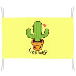 Прапор Free Hugs Cactus