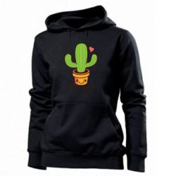 Женская толстовка Free Hugs Cactus