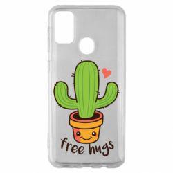 Чохол для Samsung M30s Free Hugs Cactus