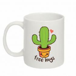 Кружка 320ml Free Hugs Cactus