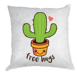 Подушка Free Hugs Cactus