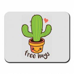 Килимок для миші Free Hugs Cactus