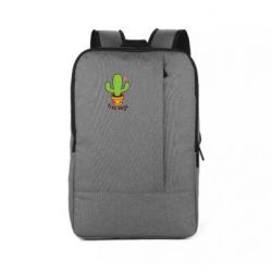 Рюкзак для ноутбука Free Hugs Cactus