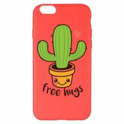 Чохол для iPhone 6 Plus/6S Plus Free Hugs Cactus