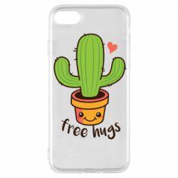 Чохол для iPhone 7 Free Hugs Cactus