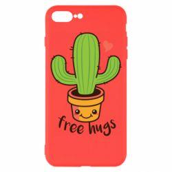 Чохол для iPhone 7 Plus Free Hugs Cactus
