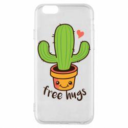 Чохол для iPhone 6/6S Free Hugs Cactus