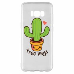 Чохол для Samsung S8+ Free Hugs Cactus