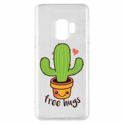 Чохол для Samsung S9 Free Hugs Cactus
