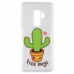 Чохол для Samsung S9+ Free Hugs Cactus