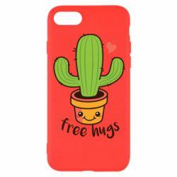 Чохол для iPhone 8 Free Hugs Cactus