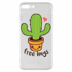 Чохол для iPhone 8 Plus Free Hugs Cactus