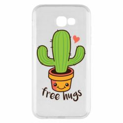 Чехол для Samsung A7 2017 Free Hugs Cactus
