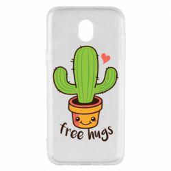 Чехол для Samsung J5 2017 Free Hugs Cactus