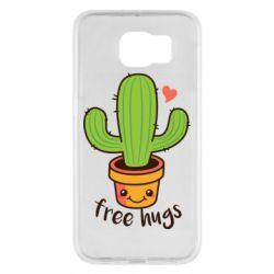 Чохол для Samsung S6 Free Hugs Cactus