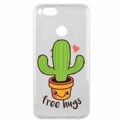 Чехол для Xiaomi Mi A1 Free Hugs Cactus