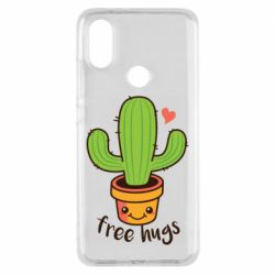 Чехол для Xiaomi Mi A2 Free Hugs Cactus