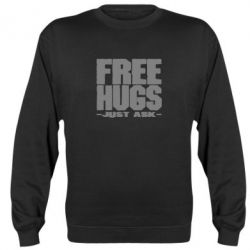 Реглан (свитшот) Free hugs - FatLine