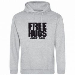Толстовка Free hugs - FatLine