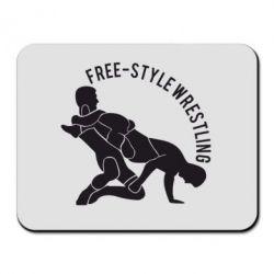 Купить Коврик для мыши Free-style wrestling, FatLine