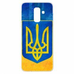 Купить Герб України, Чехол для Samsung A6+ 2018 Free Ukraine, FatLine