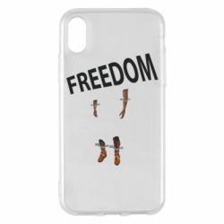 Чехол для iPhone X/Xs Freedom and limbs