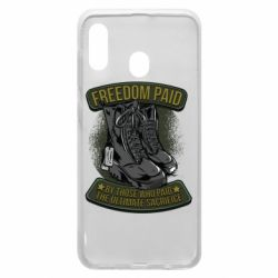 Чехол для Samsung A30 Freedom paid  by those who paid the ultimate  sacrifice