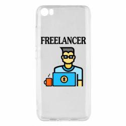 Чехол для Xiaomi Mi5/Mi5 Pro Freelancer text