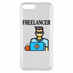 Чехол для Xiaomi Mi6 Freelancer text