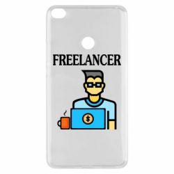 Чехол для Xiaomi Mi Max 2 Freelancer text