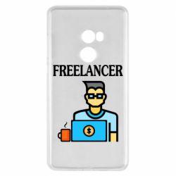 Чехол для Xiaomi Mi Mix 2 Freelancer text