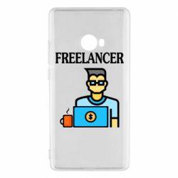 Чехол для Xiaomi Mi Note 2 Freelancer text